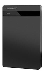 Seatay hds2120-b caixa de disco rígido móvel sem parafusos usb2.0 preto