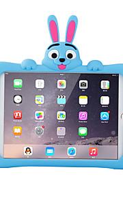애플 ipad 미니 3/2/1 스탠드 패턴 다시 커버 케이스와 충격 방지 3d 만화 부드러운 실리콘