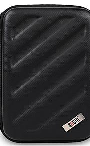 Bolsa para Adaptador de corriente Memoria USB Batería Disco duro Auriculares Ratón Color sólido EVA Material