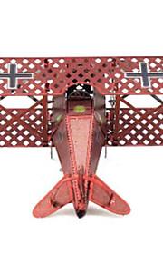 Puzzle Kit fai-da-te Puzzle 3D Modellini di metallo Costruzioni Giocattoli fai da te Velivolo