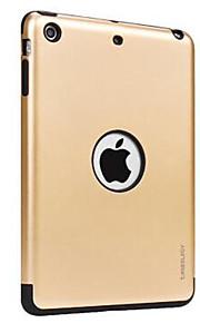 애플 ipad 미니 3/2/1 케이스 커버 스탠드 다시 커버 케이스 솔리드 컬러 하드 pc