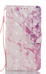 For Huawei P10 Lite P8 Lite (2017) Case Cover Pink Pattern 3D Painted Card Stent Wallet Phone Case For Galaxy P8 Lite P9 Lite Nova 2