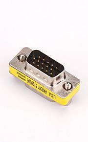 VGA Adapter, VGA to VGA Adapter Male - Male