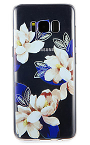 Taske til Samsung Galaxy S8 plus s8 cover mønster bag cover blomst soft tpu s7
