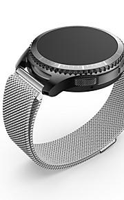 Ancool milanese loop ímã aço inoxidável malha de substituição fivela pulseira de metal pulseira para samsung gear s3 frontier / s3 classic