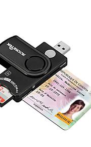 SIM-kort SD/SDHC/SDXC MicroSD/MicroSDHC/MicroSDXC/TF USB 2.0 USB Kortläsare