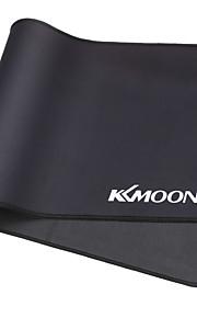 Kkmoon 600 * 300 * 3mm große Größe einfaches schwarzes wasserdichtes Anti-Rutsch-Gummi-Geschwindigkeit Spiel Spiel Maus Mäuse Pad
