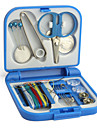 Travel Sewing and Needle Kit (Blue, Pink)