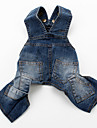 Dog Pants / Jeans Blue Dog Clothes Spring/Fall Jeans