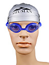 Unisex SM109 Anti-Fog Plating Swimming Goggles