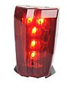Задняя подсветка на велосипед / огни безопасности LED Велоспорт Простота транспортировки / Осторожно! AAA Люмен Батарея Велосипедный спорт