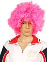 rosa peruca afro
