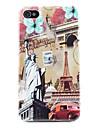 Huelle fuer iPhone 4/4S mit Freiheits Statue Motiv