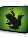 "Alien Frog Neoprene Laptop Sleeve Case for 10-15"" iPad MacBook Dell HP Acer Samsung"
