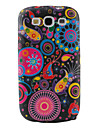 Colorful Flower Ribbon Pattern TPU Case for Samsung Galaxy S3 I9300 (Multi-Color)