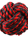 Dog Pet Toys Ball / Chew Toy Woven Random Color Cotton