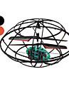 3.5 채널 3D 옴니 - 방향 RC UFO가 자이로 컴퍼스 헬기 및 LED