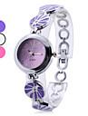 женщины сплава аналоговые кварцевые часы браслет (разных цветов)