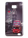 Etui Rigide Motif Bus pour Samsung Galaxy S2 i9100