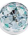 3W E26/E27 Круглые LED лампы 3 Высокомощный LED 270 lm RGB Активация звуком AC 85-265 V