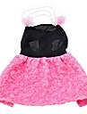 Собаки Платья Розовый Одежда для собак Лето Жемчуг / Цветочные / ботанический