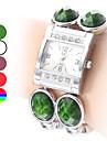 Women\'s Bracelet Plastic Analog Quartz Watch (Assorted Colors)