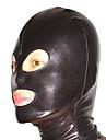 Mascara Ninja Fantasia Zentai Fantasias de Cosplay Cor Unica Mascara Elastano Unisexo Dia Das Bruxas Natal
