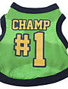 Champ 1 Pattern Vest for Dogs(Green,XS-L)