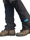 Black Outdoor Nylon+PU+Oxford Cloth Windproof Feet Protect Gear for Climbing/Cycling