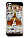 Cheers Pattern Hard Case for iPhone 4/4S