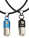 Z&X®  Crazy Bullet Couple Necklace