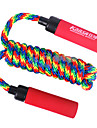 Plastic Handle Cotton Skipping Rope Multi-color(Assorted Colors,3M)