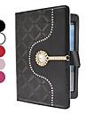 speciale pu lederen case w / stand voor iPad mini 3, ipad mini 2, ipad mini (verschillende kleuren)