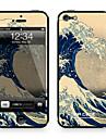 "Da Code ™ Skin for iPhone 4/4S: ""The Great Wave off Kanagawa"" by Katsushika Hokusai (Masterpieces Series)"