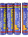 MarsFire 10440 3.7V 630mAh rechargeables protegees Li-ion (4-pack)