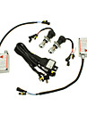 12V 35W H4-3 da lampada HID Xenon Conversion Kit Set (E3035 Lastro)