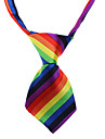Multicolored Wedding Nylon Tie For Dogs / Cats