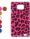 Leopard Print Hard Case for Samsung Galaxy S2 I9100 (Assorted Colors)