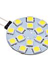 2W G4 Luminárias de LED  Duplo-Pin 15 SMD 5050 150 lm Branco Natural AC 12 V