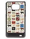 cas dur de modèle de chien pour Samsung Galaxy S2 I9100