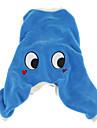 Dog T-Shirt - XS / S / M / L - Winter - Blue Fleece