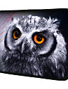 """""""Gray Owl""""Pattern Nylon Material Waterproof Sleeve Case for 11""""/13""""/15"""" Laptop&Tablet"""