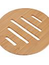 "6.5 ""полая картина линий бамбука Coaster"