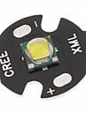 Cree XML-T6 White 16mm LED Lamp Bulb(Black)