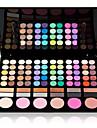 78 Paleta de Sombras Mate / Brilho Paleta da sombra Po GrandeMaquiagem de Fada / Maquiagem para o Dia A Dia / Maquiagem de Festa /