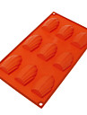 Shell Shaped Silicone Chocolate Mould