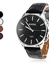 Men\'s Analog Quartz PU Wrist Watch (Assorted Colors)