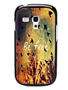 BE FREE Pattern Hard Case for Samsung Galaxy I8190
