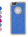 diamante quadro cintilante caso difícil em pó para o iphone 5/5s (cores sortidas)