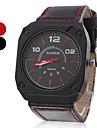 Hombre Reloj de Vestir Cuarzo PU Banda Negro Marca-